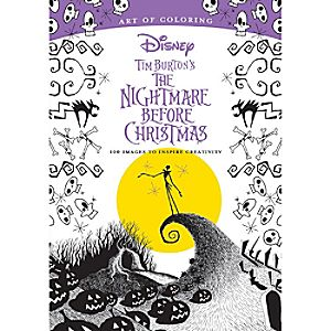 Tim Burtons The Nightmare Before Christmas Art Of Coloring Book Price 1595