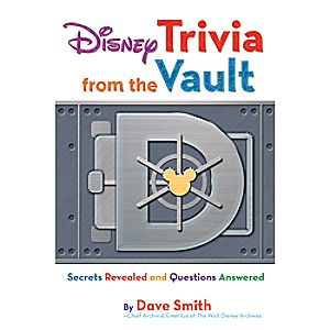 Disney Trivia from the Vault Book