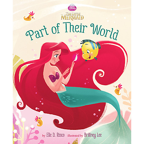 The Little Mermaid: Part of Their World Book