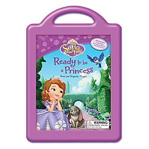 Sofia the First: Ready to Be a Princess Book and Magnetic Playset