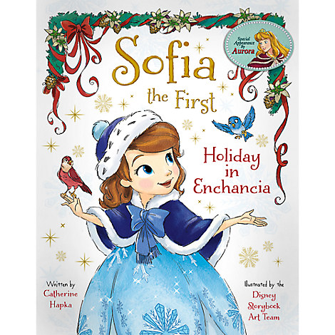 Sofia the First: Holiday in Enchancia Book
