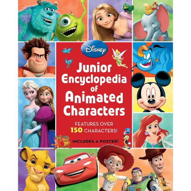 Junior Encyclopedia of Animated Characters Book