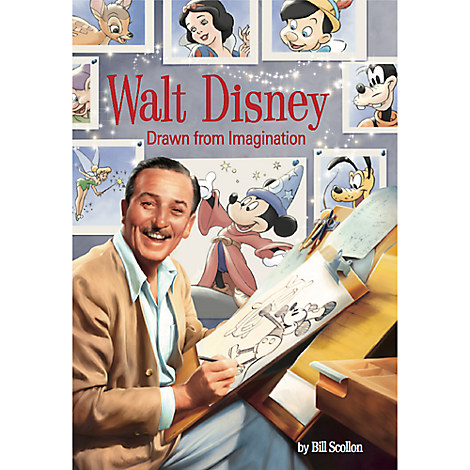 Walt Disney Drawn from Imagination Book