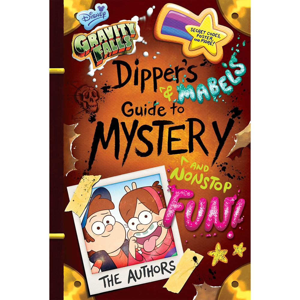 Gravity Falls: Dipper and Mabel's Guide to Mystery and Nonstop Fun! Book Official shopDisney