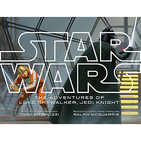 Star Wars: The Adventures of Luke Skywalker, Jedi Knight Book