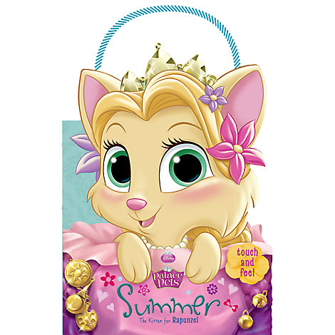 Palace Pets: Summer the Kitten for Rapunzel Touch-and-Feel Book