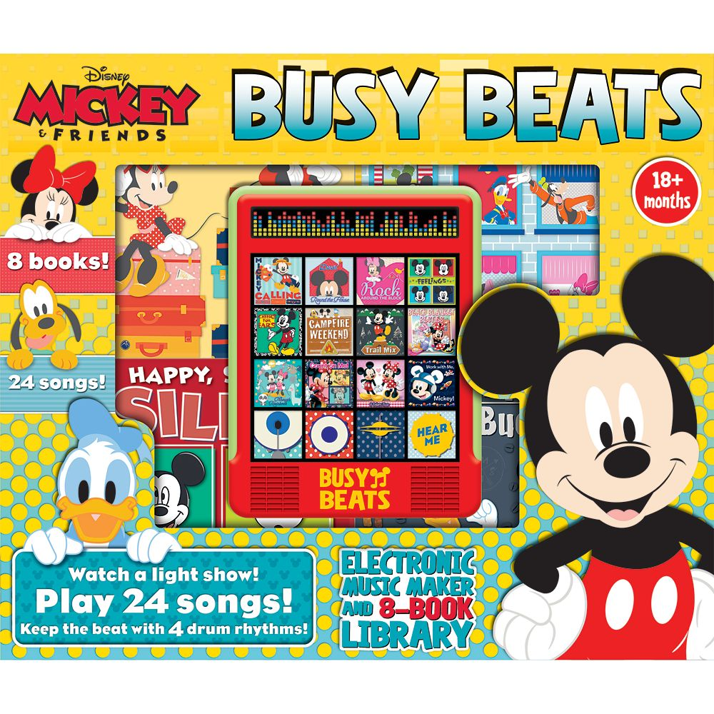Mickey Mouse and Friends Busy Beats Official shopDisney