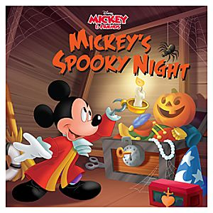 Mickey's Spooky Night Book