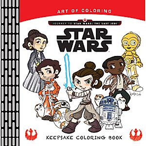 Journey to Star Wars: The Last Jedi Coloring Book