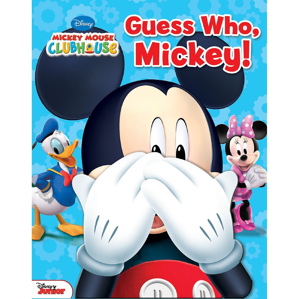 Mickey Mouse Clubhouse: Guess Who, Mickey! Book Official shopDisney