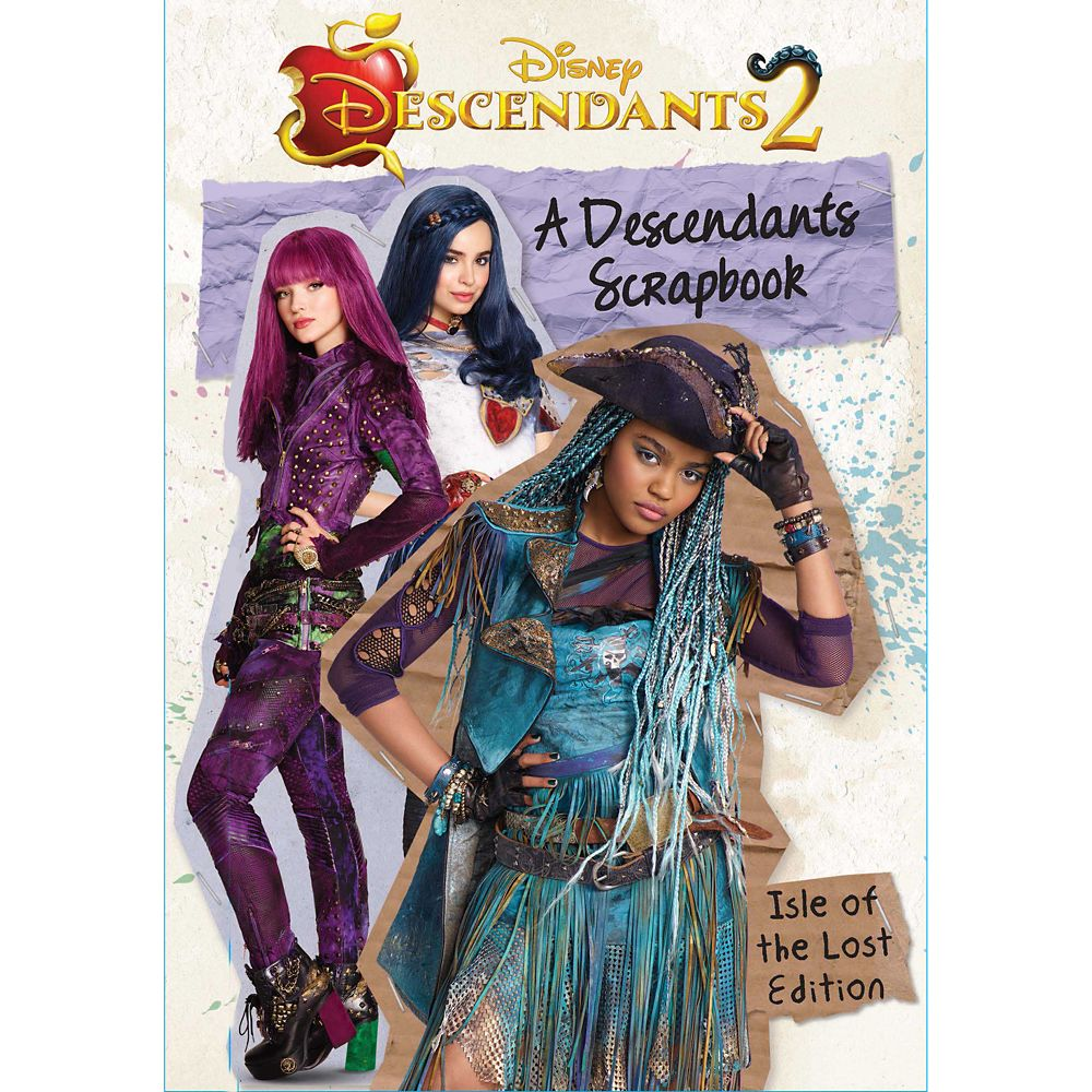 A Descendants Scrapbook: The Isle of the Lost Edition Official shopDisney