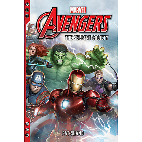 Avengers: The Serpent Society Book