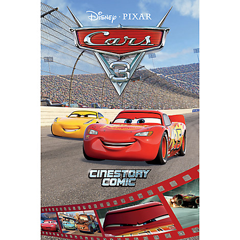 Cars 3: Cinestory Comic