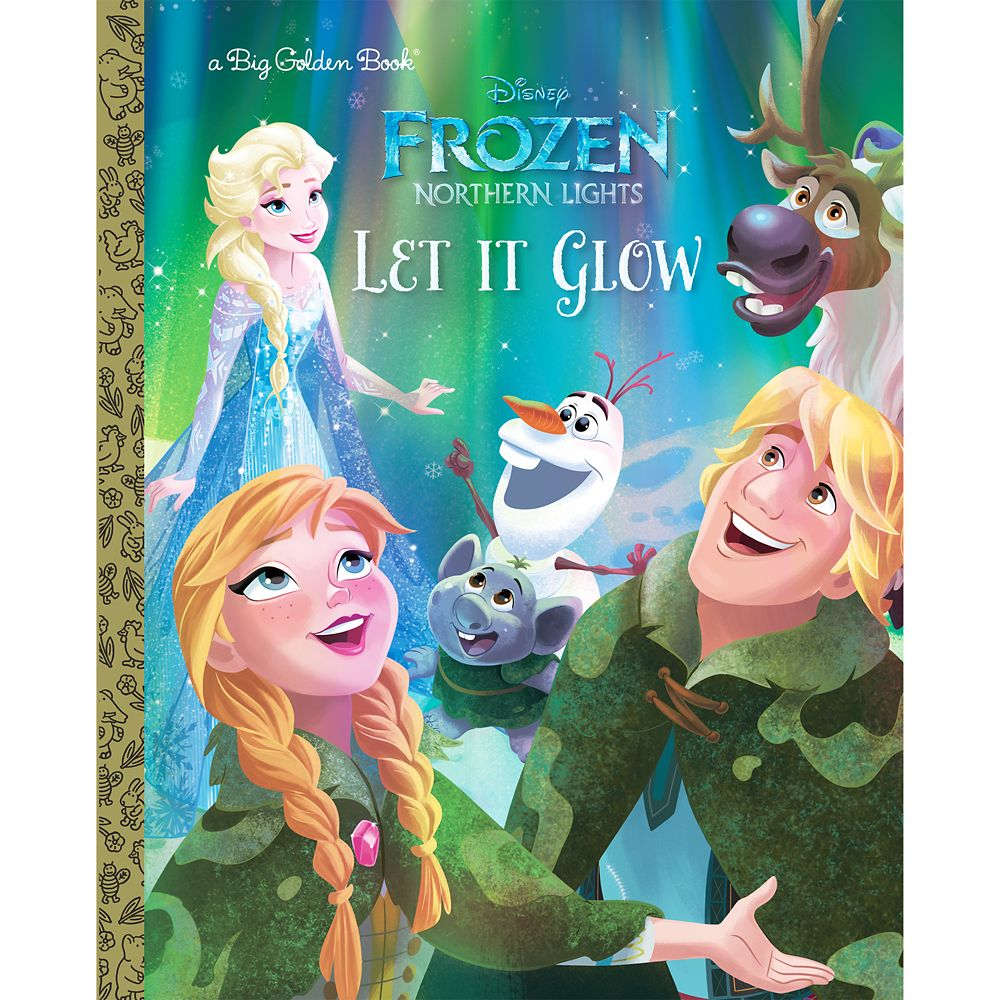 Frozen Northern Lights: Let It Glow – Big Golden Book