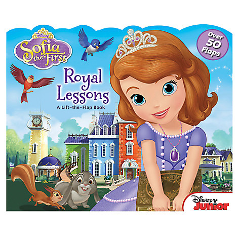 Sofia the First: Royal Lessons Lift-the-Flap Book