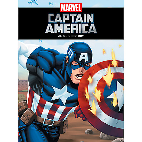 Captain America Book