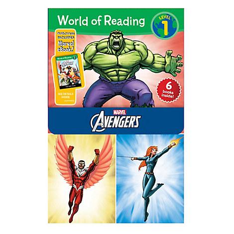 World of Reading Avengers Boxed Set