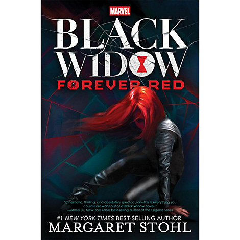 Black Widow: Forever Red Book