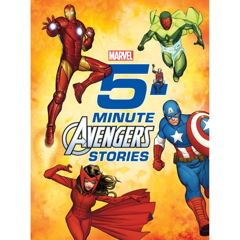 Avengers 5-Minute Stories Book