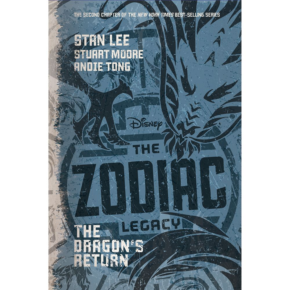 The Zodiac Legacy: The Dragon's Return Book Official shopDisney