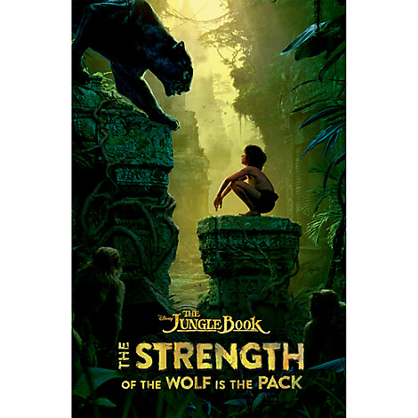 The Jungle Book: The Strength of the Wolf is the Pack Book