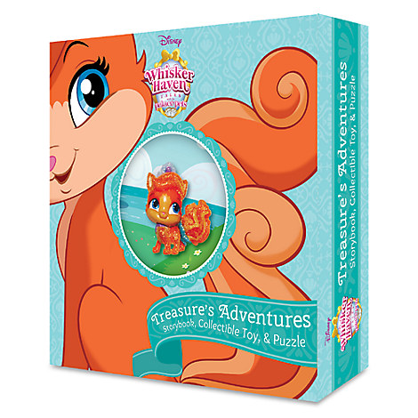 Whisker Haven Tales with the Palace Pets: Treasure's Adventures Storybook Plus Collectible Toy