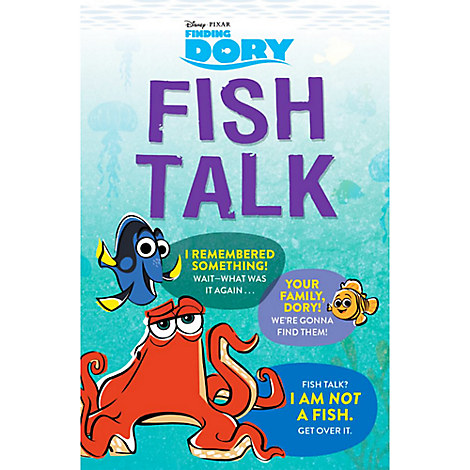 Finding Dory: Fish Talk Book