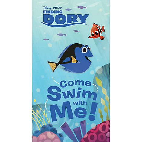 Finding Dory: Come Swim with Me! Book