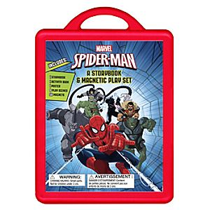 Spider-Man: An Amazing Book and Magnetic Play Set 7741055952337P