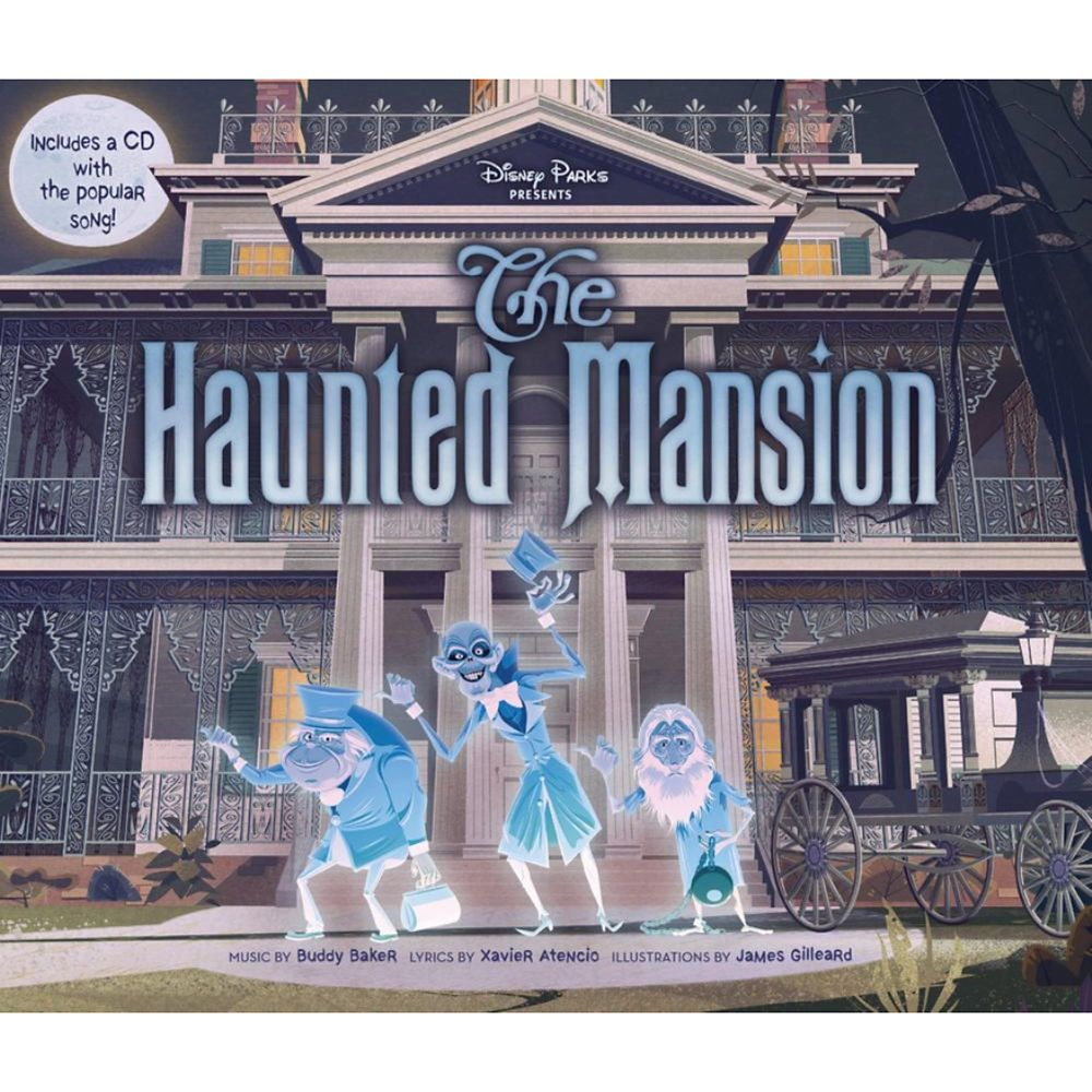 The Haunted Mansion Book and CD Set