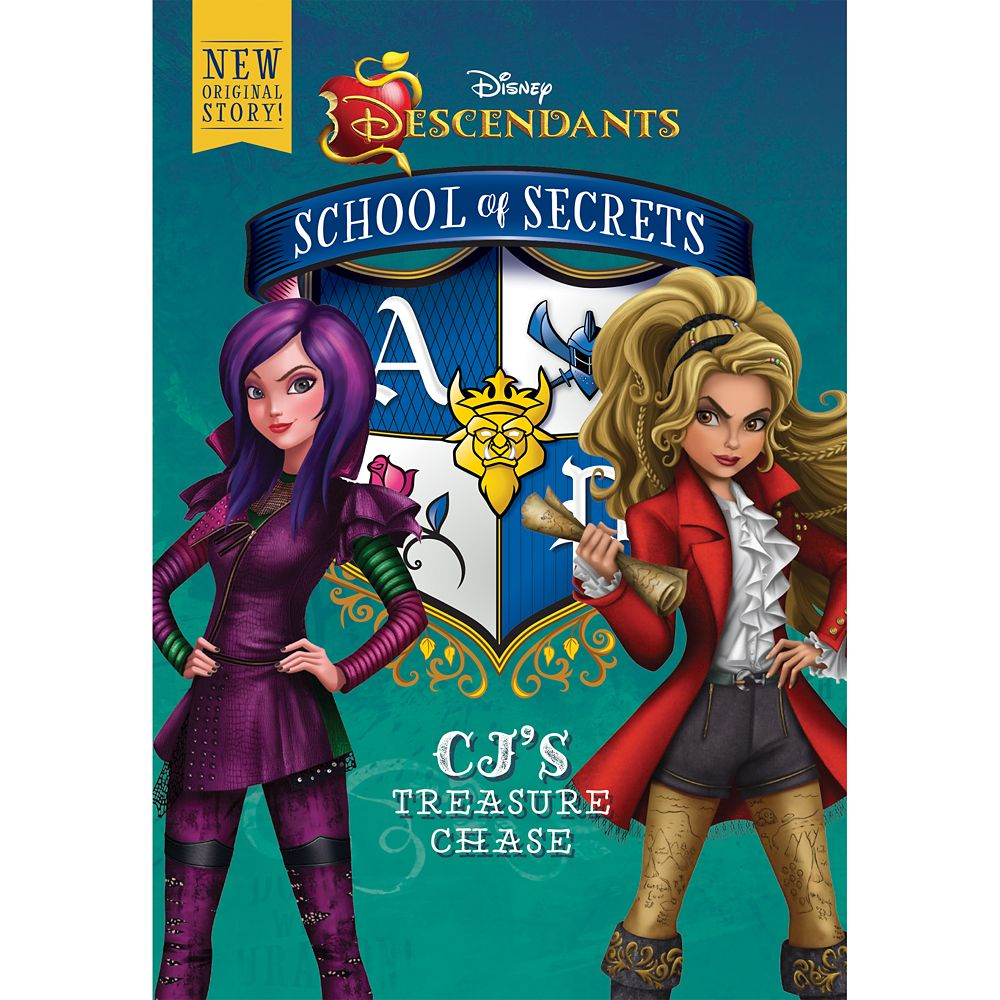 Descendants School of Secrets: CJ's Treasure Chase Book