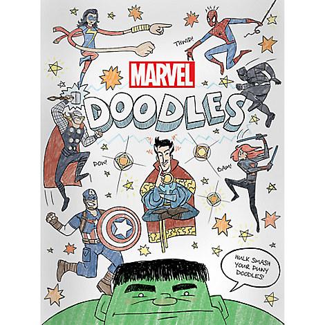 Marvel Doodles Book