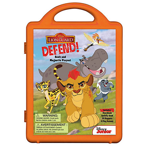 The Lion Guard: Defend! Book and Magnetic Play Set