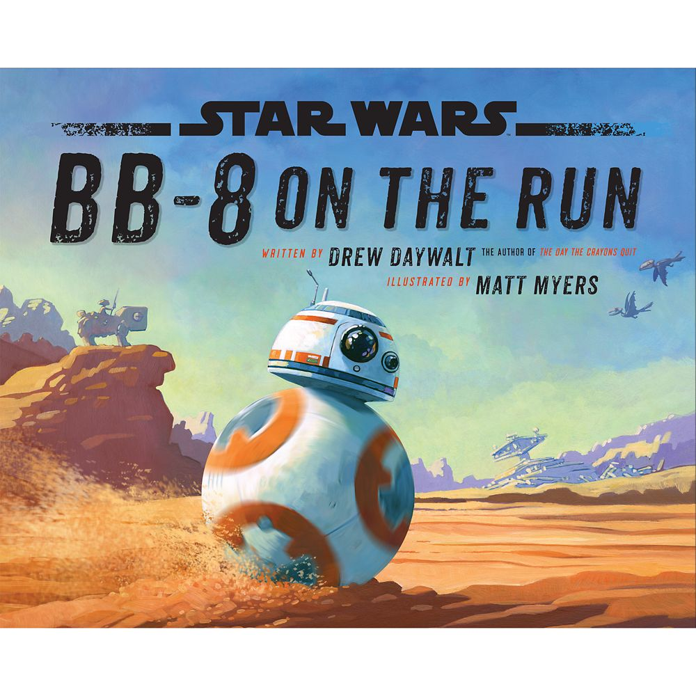 BB-8 On the Run Book Official shopDisney