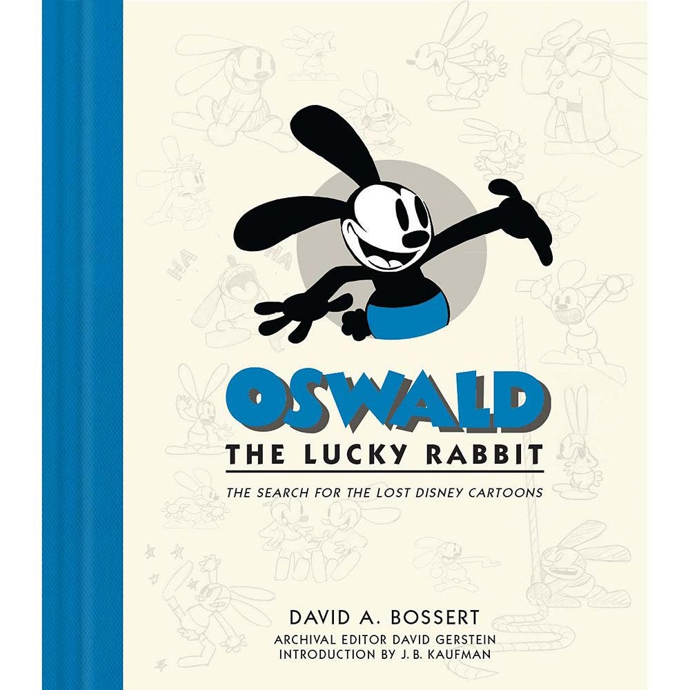Oswald the Lucky Rabbit Book Official shopDisney