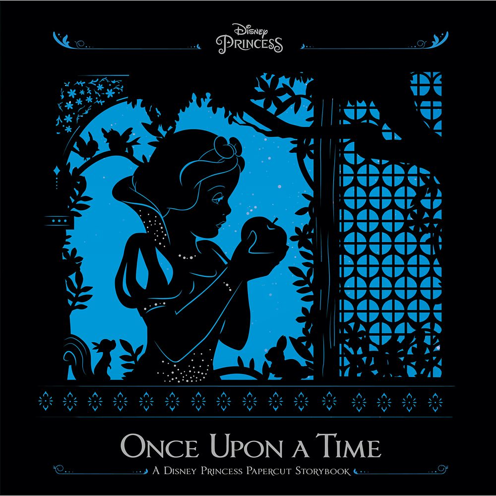 Disney Princess Once Upon a Time Papercut Storybook