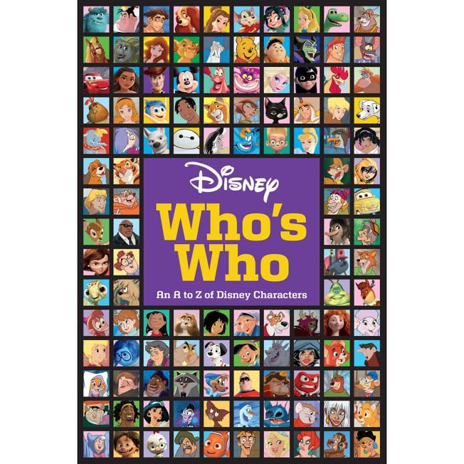 Disney Who's Who Book