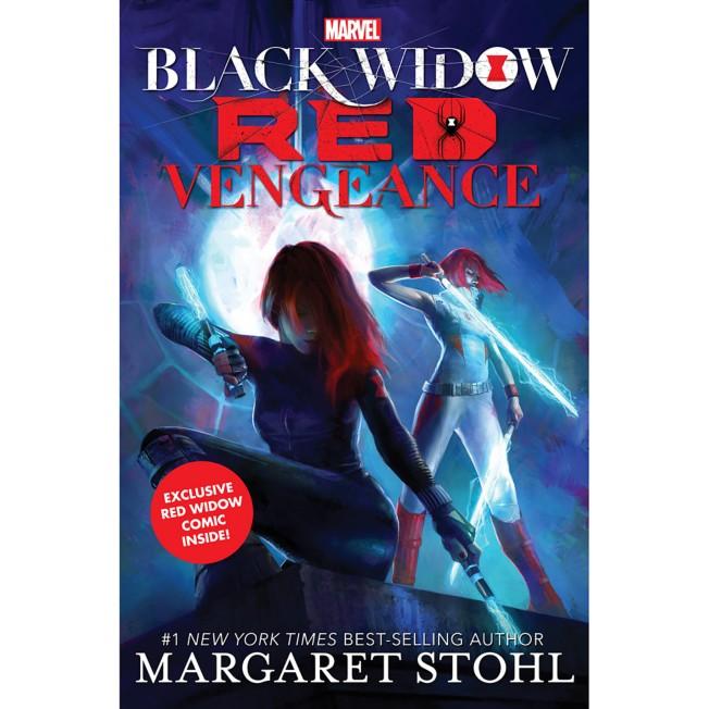 Black Widow: Red Vengeance Book