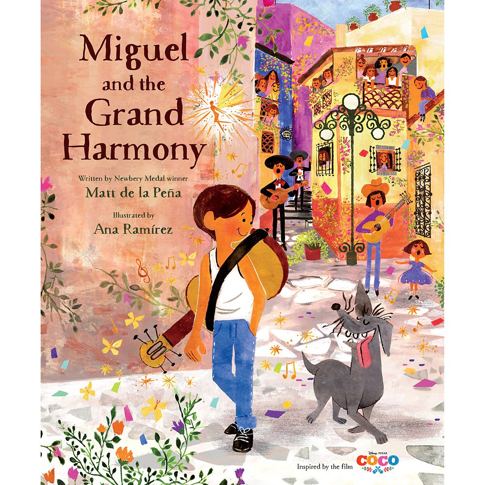 Coco: Miguel and the Grand Harmony Book