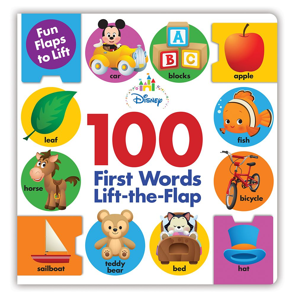 100 First Words Lift-the-Flap Book