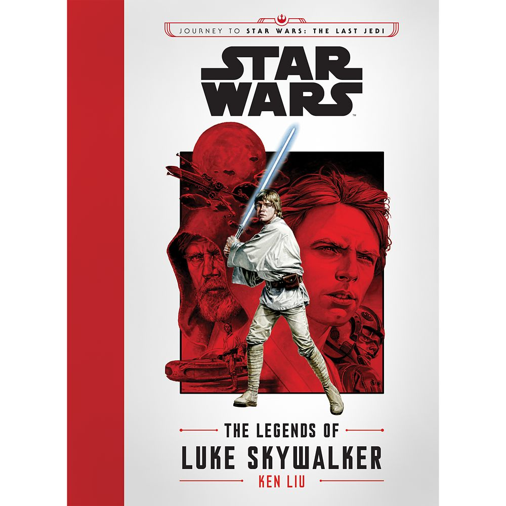The Legends of Luke Skywalker Book – Star Wars