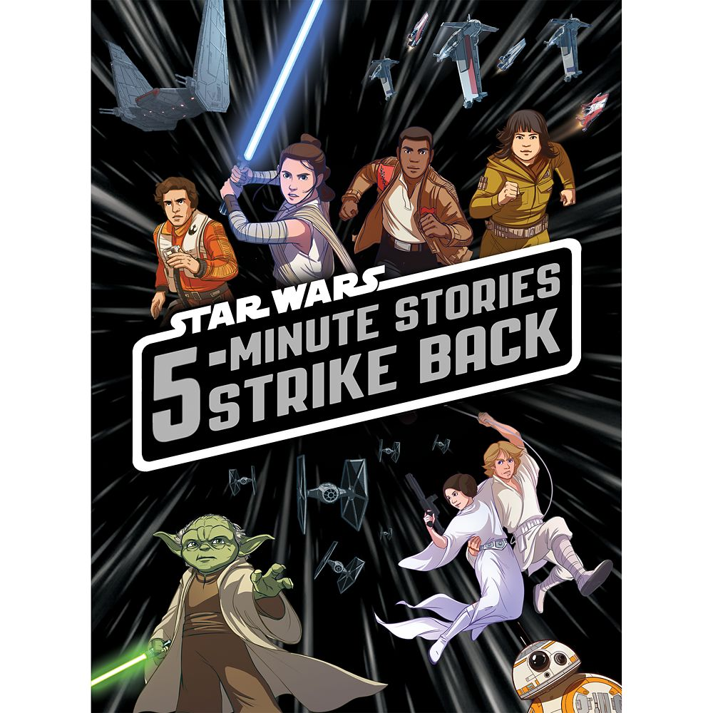 Star Wars 5-Minute Stories Strike Back Book