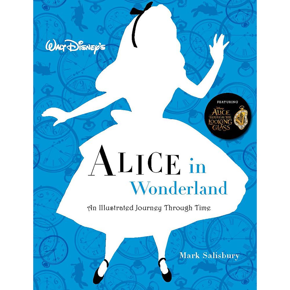 Alice in Wonderland: The Illustrated Journey Through Time Book Official shopDisney