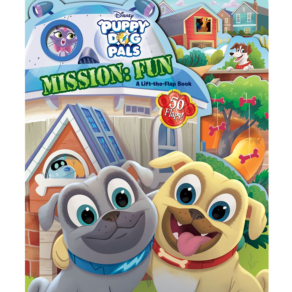 Puppy Dog Pals Mission: Fun Book