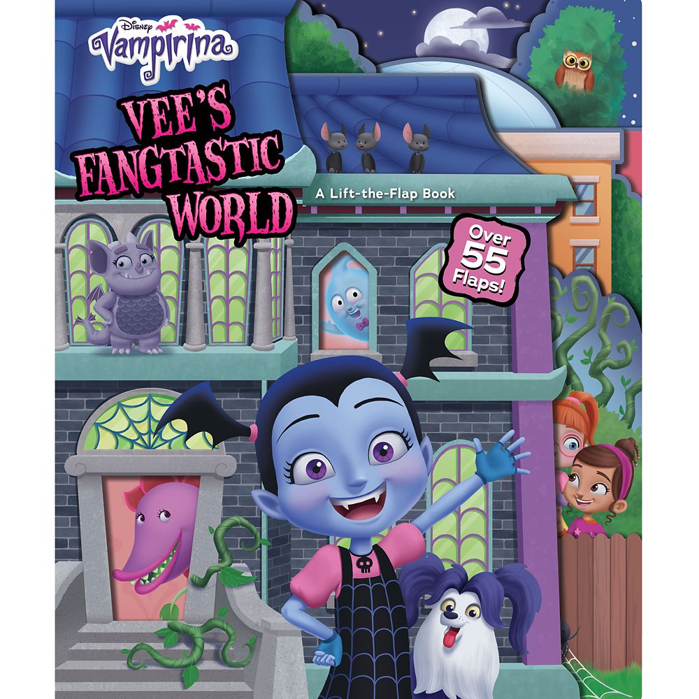 Vampirina Vee's Fangtastic World Book