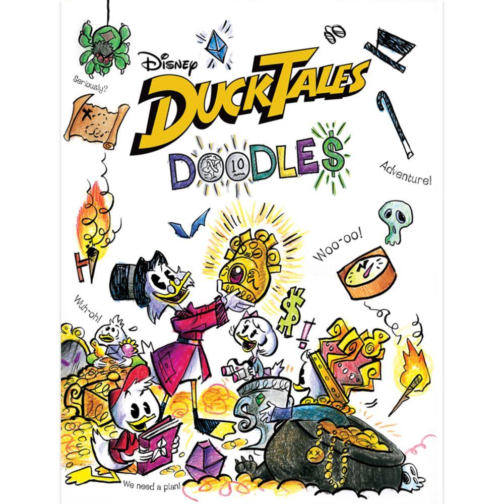 DuckTales Doodles Book