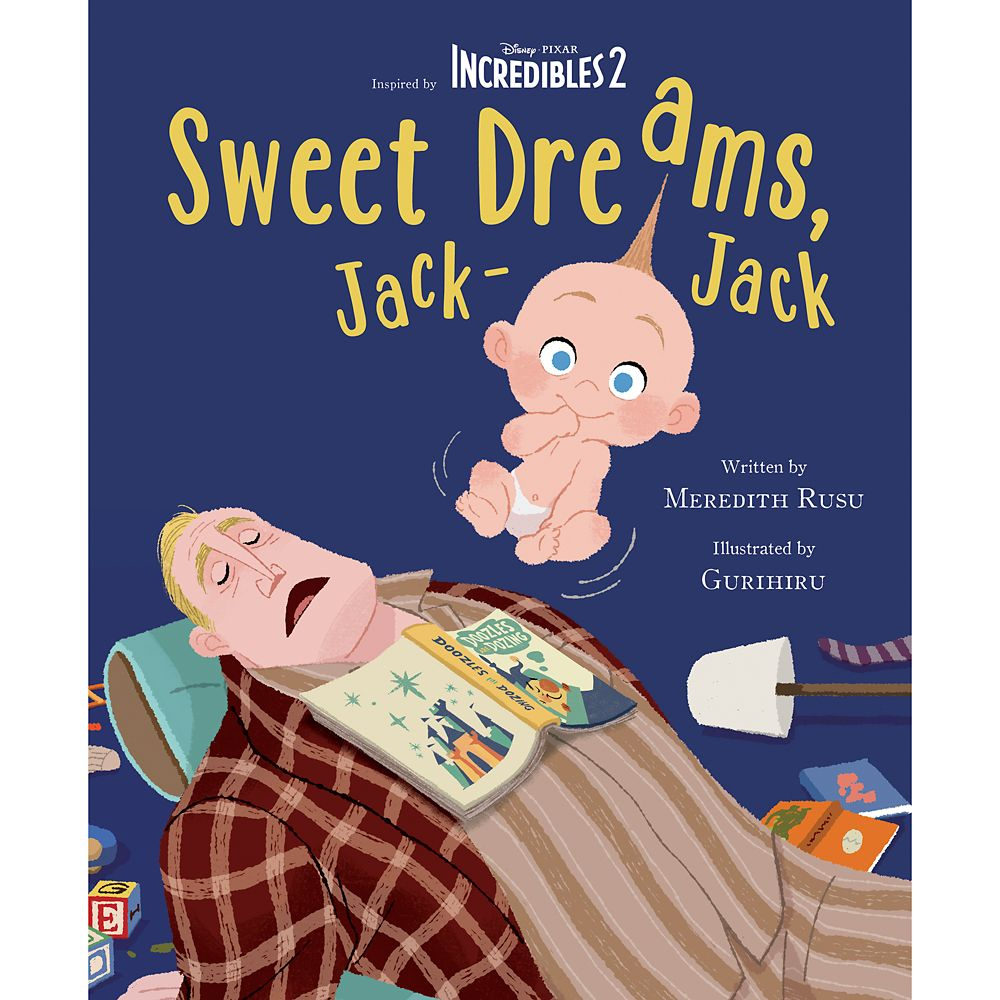 Incredibles 2: Sweet Dreams, Jack-Jack Book