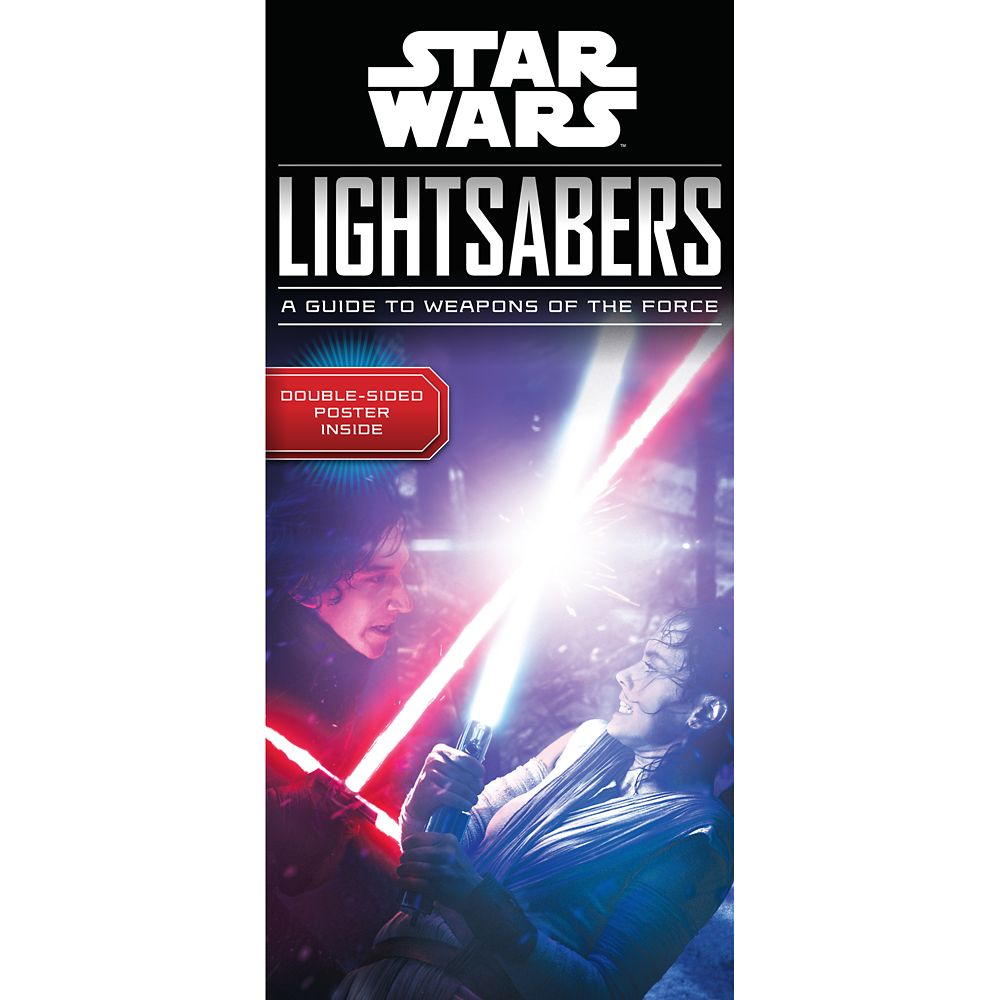 Star Wars Lightsabers: A Guide to Weapons of the Force Book Official shopDisney