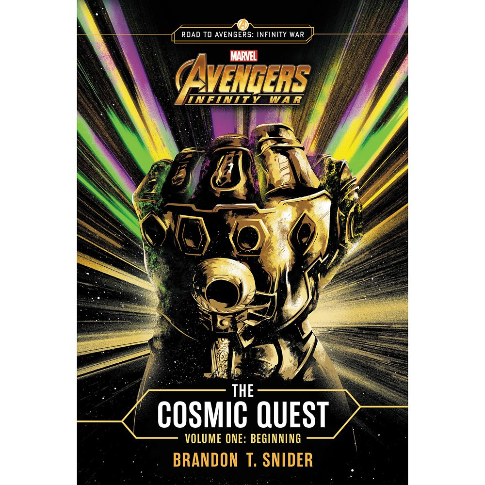 Marvel's Avengers: Infinity War: The Cosmic Quest – Volume 1: Beginning Book