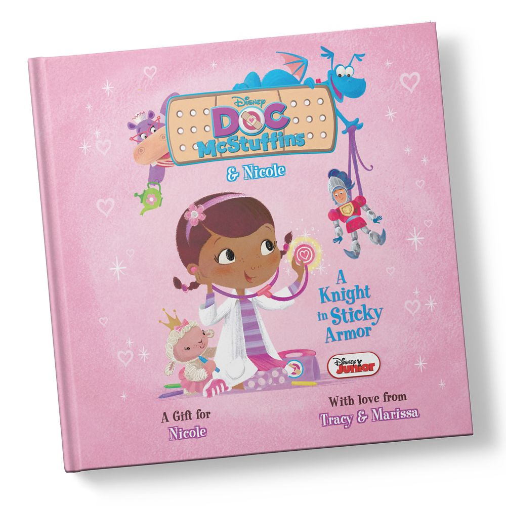 Doc McStuffins: A Knight in Sticky Armor Book – Personalizable